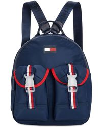 734477e888e Tommy Hilfiger Kensington Quilted Nylon Backpack - Lyst