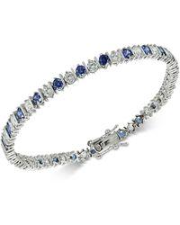 Giani Bernini Cubic Zirconia Tennis Bracelet In Sterling Silver - Metallic