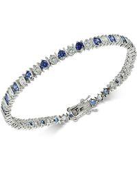 Giani Bernini - Cubic Zirconia Tennis Bracelet In Sterling Silver - Lyst