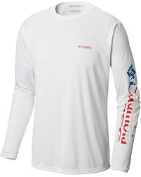 969943d5ef7 Columbia - Pfg Terminal Tackle Graphic T-shirt - Lyst