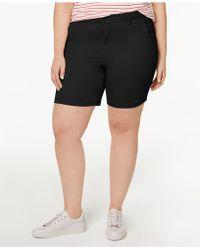 Celebrity Pink - Plus Size Bermuda Shorts - Lyst