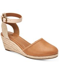 Style & Co. Mailena Wedge Espadrille Sandals, Created For Macy's - Brown