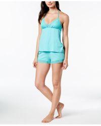 Linea Donatella - Whisper Lace T-back Pyjama Set - Lyst