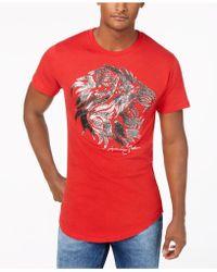 Sean John - Regal Lion Graphic T-shirt - Lyst