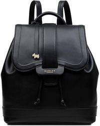 Radley Devonport Mews Medium Flapover Backpack - Black