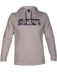 Hurley - Tropical Logo Sweatshirt - Lyst