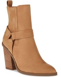 DV by Dolce Vita Nilano Harness Chelsea Booties - Brown
