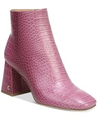 Circus by Sam Edelman - Kate Square-toe Booties - Lyst