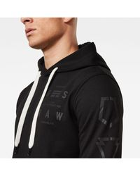 G-STAR RAW Graphic 15 Hooded Sweat-Shirt Homme
