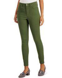 Charter Club Windham High-rise Skinny Jeans, Created For Macy's - Green