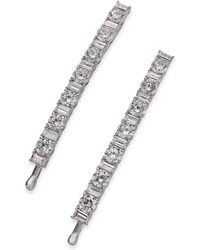 Danori - Silver-tone 2-pc. Crystal Bobby Pin Set, Created For Macy's - Lyst