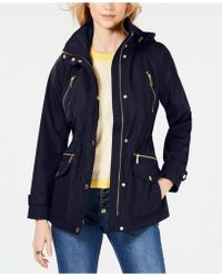 0d5f5a1764b9 Michael Kors Michael Petite Hooded Quilted Packable Puffer Coat in ...