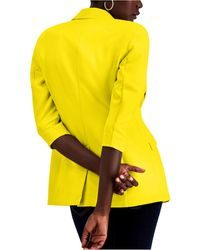 INC International Concepts Inc Menswear Blazer, Regular & Petite Sizes, Created For Macy's - Yellow