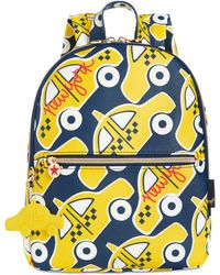 Macy's Printed Mini Backpack - Blue