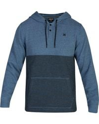Hurley - Bayside Colorblock Pullover - Lyst