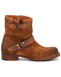 Vintage Foundry Co. Miriam Narrow Boots - Brown