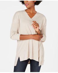 Style & Co. Petite V-neck Tunic, Created For Macy's - Multicolor