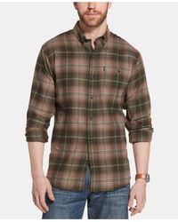 G.H.BASS Rosin One-pocket Flannel Shirt - Multicolor