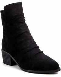 Catherine Malandrino Frances Ankle Bootie - Black