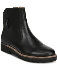 Franco Sarto - Chevelle Ankle Zip Booties - Lyst
