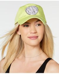 bc2ab5be8f18a DKNY - Embroidered Logo Token Baseball Hat - Lyst