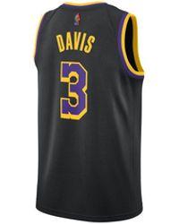 Nike Earned Swingman Jersey Anthony Davis - Black