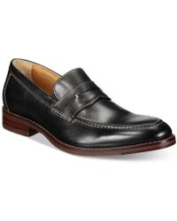 Johnston & Murphy - Men's Garner Penny Loafers - Lyst