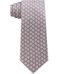 Michael Kors - Premium Light Geo Slim Silk Tie - Lyst