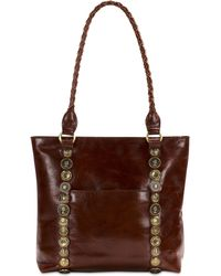 Patricia Nash - Studded Hardware Rena Large Tote - Lyst