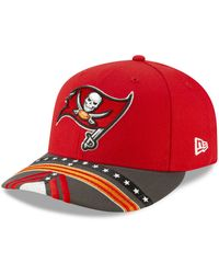 brand new 0a38b 2152c KTZ Tampa Bay Buccaneers On-Field 39Thirty Cap in Red for Men - Lyst