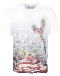 d88bbcec Guess Shirt Destination Los Angeles Logo Tshirt in White for Men - Lyst