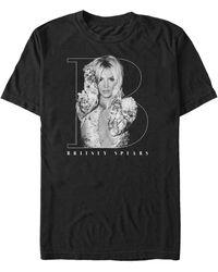Fifth Sun Big B Logo Portrait Short Sleeve T-shirt - Black