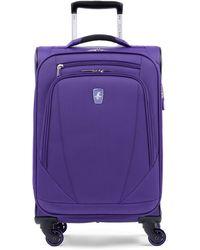 "Atlantic ® Infinity® Lite 4 21"" Expandable Spinner Suitcase - Purple"