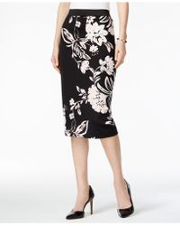 Alfani - Printed Pencil Skirt - Lyst
