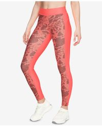 Under Armour - Heatgear® Printed Compression Leggings - Lyst