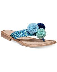 Callisto - Pomm Flat Sandals - Lyst