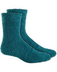 Charter Club Butter Socks, Created For Macy's - Blue