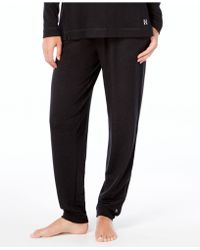 Hue | French Terry Cuffed Pajama Pants | Lyst