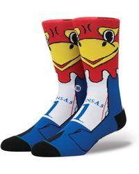 Stance - Kansas Jayhawks Mascot Sock - Lyst