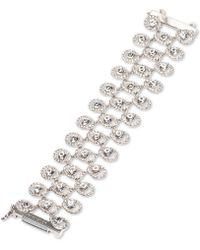 Givenchy - Crystal Triple-row Magnetic Flex Bracelet - Lyst