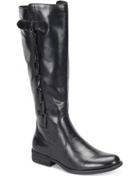 Born - Cook Wide-calf Tall Boots - Lyst