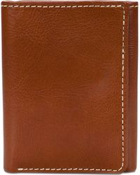 Patricia Nash Leather Trifold Wallet - Brown
