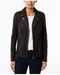 Style & Co. - Petite Moto Jacket - Lyst
