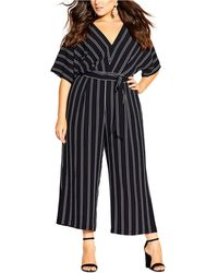 City Chic Womens Apparel Womens Plus Size Playsuit Weekender
