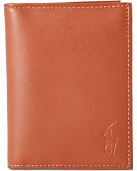 Polo Ralph Lauren - Wallet, Burnished Billfold Wallet With Window - Lyst