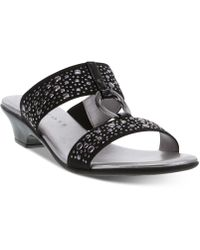 Karen Scott Eanna Sandals, Created For Macy's - Black