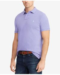 Polo Ralph Lauren - Custom Slim-fit Mesh Polo Shirt - Lyst