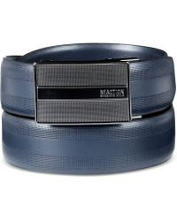 Kenneth Cole Reaction | Stretch Plaque Belt | Lyst