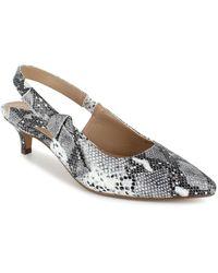 Nanette Lepore - Nanette By Rhona Slingback Kitten Heels, Created For Macy's - Lyst