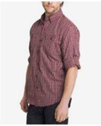 G.H.BASS - Men's Sportsman Plaid Shirt - Lyst